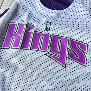 Russell Athletic Shirts & Tops - Russell Athletic Sacramento Kings Reversible